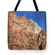 Vertical Forest Tote Bag