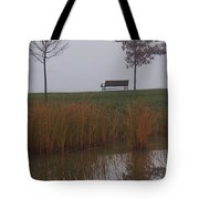 Vertical Reflection Tote Bag