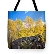 Vertical Shot Of Meagher's Cabin Tote Bag