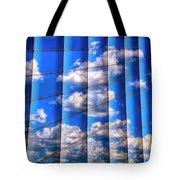 Vertical Sky Tote Bag