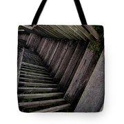 Vertigo - Stairs To The Unknown Tote Bag