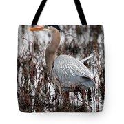 Very Handsome Heron  2845 Tote Bag
