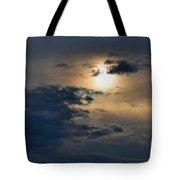Very Hazy Sunset Tote Bag