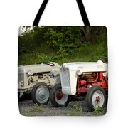 Very Old Ford Tractors Tote Bag