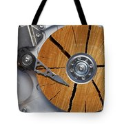 Very Old Hard Disc Tote Bag