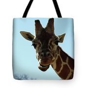 Very Tall Giraffe Tote Bag