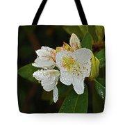 Very Wet Flower Tote Bag
