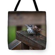 Very Wet Wren Tote Bag