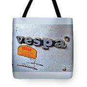 Vespa Tote Bag