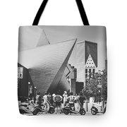 Vespa Tours Tote Bag