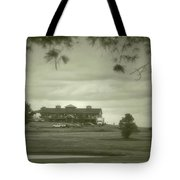 Vesper Hills Golf Club Tully New York Antique 02 Tote Bag