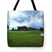 Vesper Hills Golf Club Tully New York Before The Storm Tote Bag