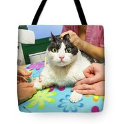 Vet Cannula Needle Injection Tote Bag