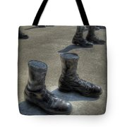 Veteran's Memorial Walk Tote Bag