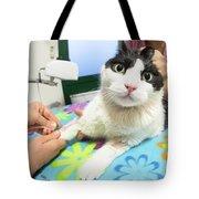 Veterinarian Cat Care Tote Bag