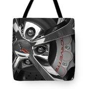 Vette Wheel Tote Bag by Dennis Hedberg