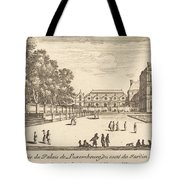 Veue Du Luxembourg Tote Bag