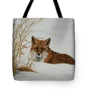 Vexed Vixen - Red Fox Tote Bag