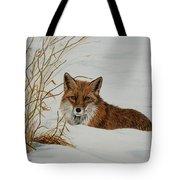 Vexed Vixen - Red Fox Tote Bag