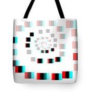 Vexer 2 - Use Red-cyan 3d Glasses Tote Bag