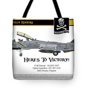 Vf-103 Jolly Rogers Tote Bag