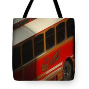 Via San Antonio Trolley Tote Bag