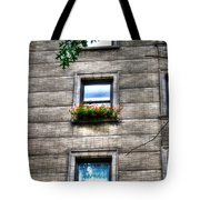 Vibrance In A Sea Of Grey Tote Bag