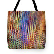 Vibrant Christmastree Forest Tote Bag