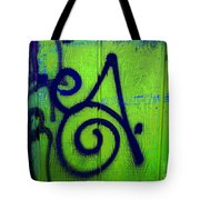 Vibrant City Tote Bag