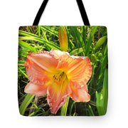 Vibrant Daylilly Tote Bag