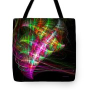Vibrant Energy Swirls Tote Bag
