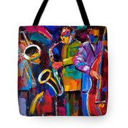 Vibrant Jazz Tote Bag
