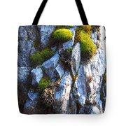 Vibrant Moss Tote Bag