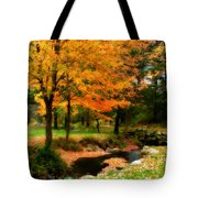 Vibrant October Tote Bag