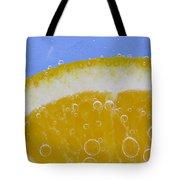 Vibrant Orange Tote Bag