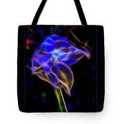 Vibrant Orchid Tote Bag