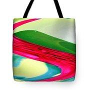 Vibrant Pattern Tote Bag
