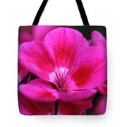 Vibrant Pink Flowers Tote Bag