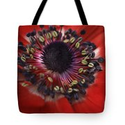 Vibrant Red Tote Bag