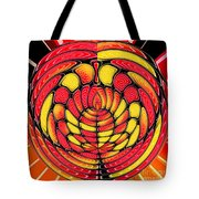 Vibrant Reds Tote Bag