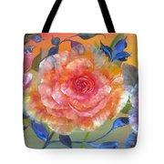 Vibrant Roses Tote Bag