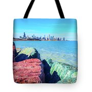 Vibrant Summer Vibes Tote Bag