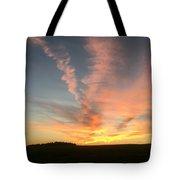 Vibrant Sunset Tote Bag