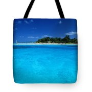 Vibrant Turquoise Waters Tote Bag