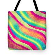Vibrant Waves Tote Bag