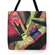 Vibrations Of Color Tote Bag