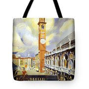 Vicenza Italy Travel Poster Tote Bag