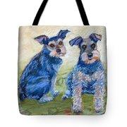 Vickie's Pups Tote Bag
