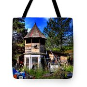 Vic's Shed Tote Bag