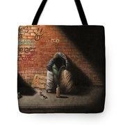 Victim Of Circumstance Tote Bag